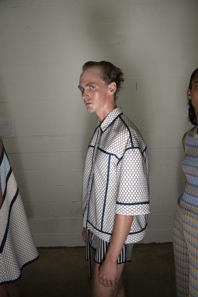 Eckhaus Latta at New York Spring 2020 (Backstage)