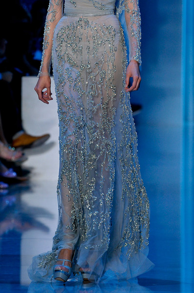 Elie Saab at Couture Fall 2011 (Details)