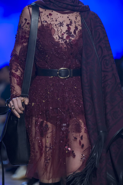 Elie Saab at Paris Fall 2018 (Details) [clothing,fashion,fashion design,dress,haute couture,outerwear,formal wear,electric blue,robe,fawn,socialite,fashion,haute couture,purple,clothing,model,fashion design,wear,elie saab,paris fashion week,haute couture,model,socialite,purple,fashion]