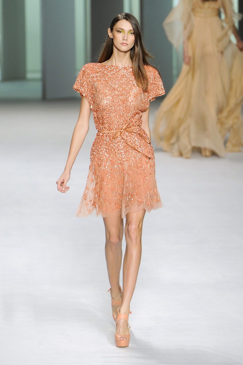 Elie Saab at Paris Fashion Week Spring 2011