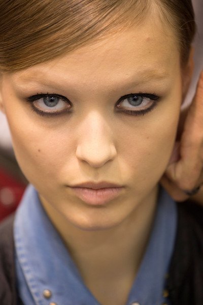 Elie Saab at Milan Spring 2013 (Backstage)