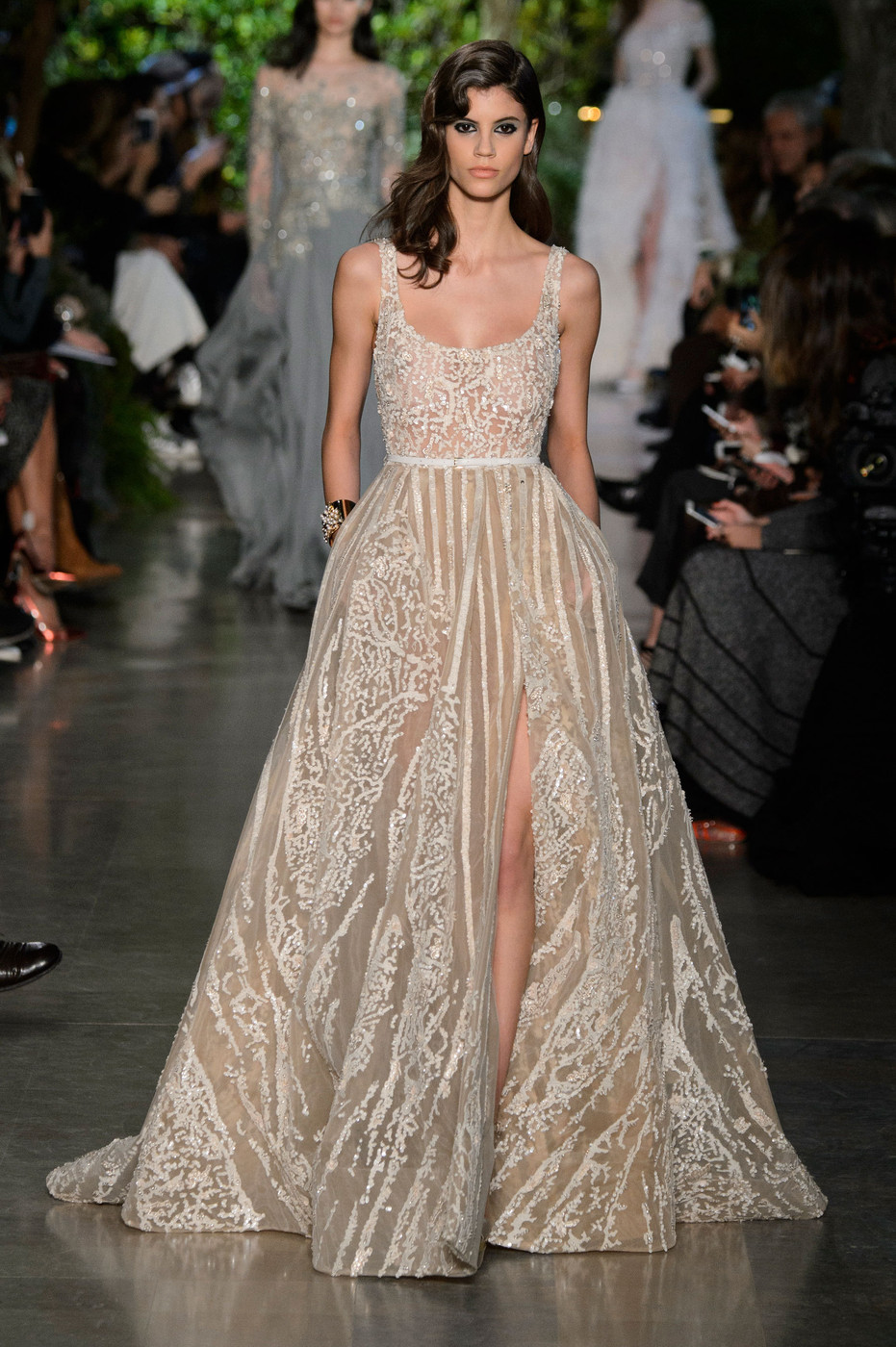 Elie saab spring 2015 the best runway looks at couture for Couture house dresses