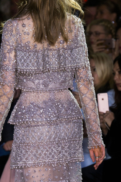 Elie Saab at Couture Spring 2016 (Details) [fashion,clothing,fashion model,haute couture,dress,cocktail dress,fashion show,shoulder,joint,event,fashion,haute couture,runway,clothing,model,fashion week,fashion design,elie saab,couture spring 2016,fashion show,runway,haute couture,fashion,fashion design,clothing,fashion show,paris fashion week,model,fashion week,skirt]