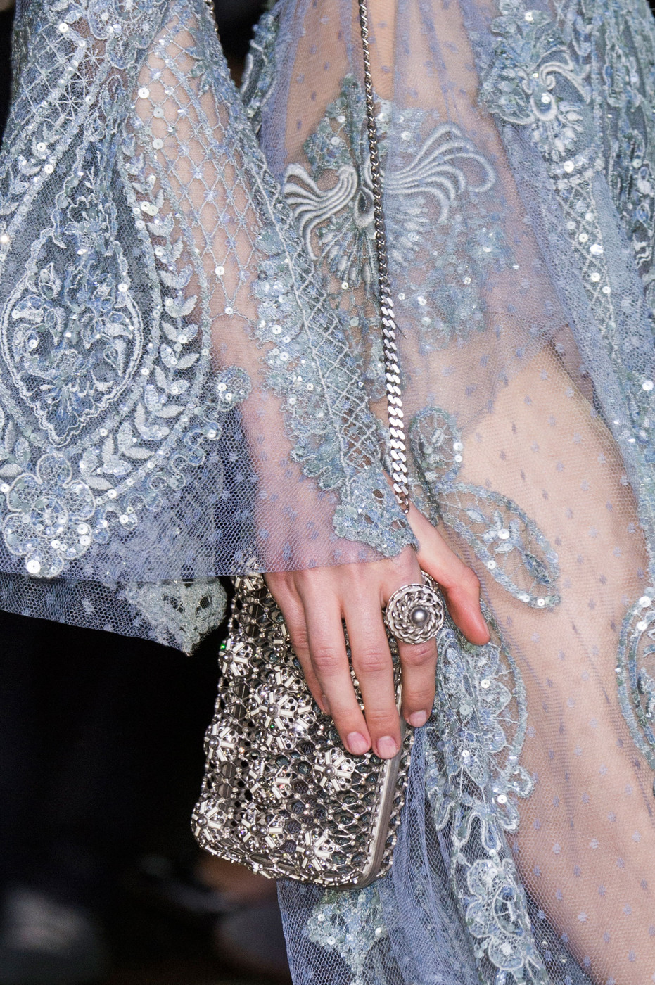 Elie saab at couture spring 2016 livingly for Haute couture details