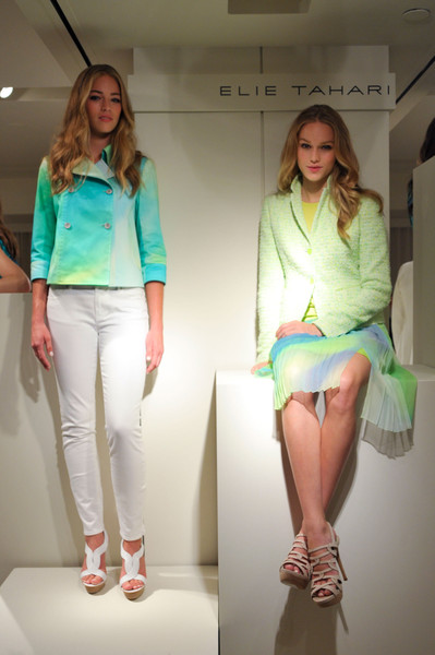 Elie Tahari at New York Spring 2013