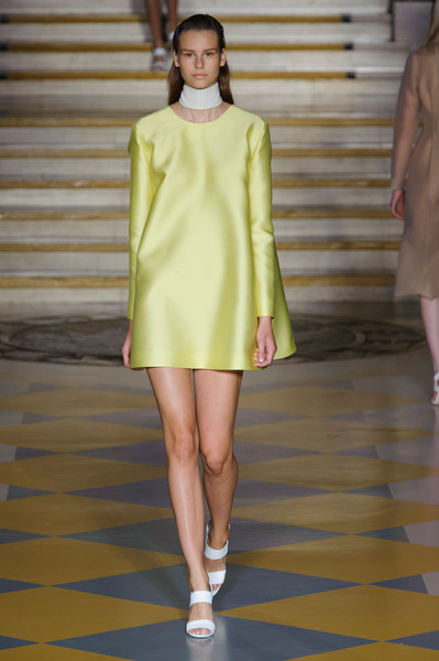 Emilia Wickstead at London Spring 2015 [fashion model,fashion,fashion show,clothing,runway,yellow,shoulder,haute couture,public event,fashion design,supermodel,emilia wickstead,fashion,runway,haute couture,model,fashion model,yellow,london fashion week,fashion show,runway,model,milan fashion week,fashion,fashion show,supermodel,wikifeet,haute couture]