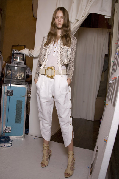 Emilio Pucci at Milan Spring 2010 (Backstage)