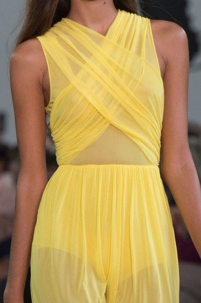 Emilio Pucci at Milan Spring 2017 (Details) [fashion model,clothing,yellow,fashion,shoulder,dress,fashion show,cocktail dress,neck,haute couture,dress,cocktail dress,supermodel,fashion,haute couture,shoulder,model,runway,milan fashion week,fashion show,fashion,fashion show,dress,haute couture,cocktail dress,runway,model,shoulder,estilo mulher,supermodel]