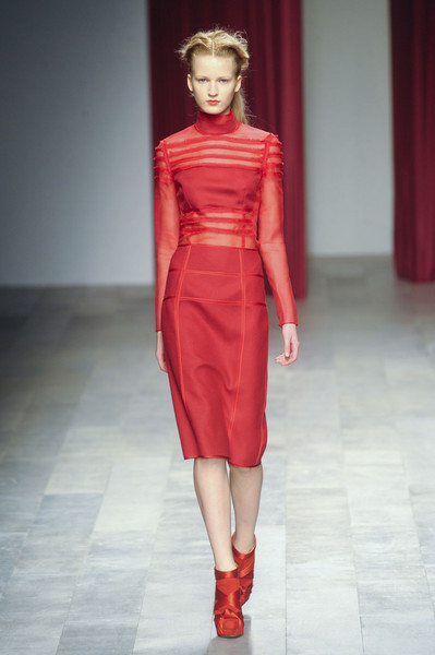 Emilio de la Morena at London Fall 2011