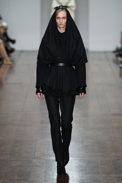Emilio de la Morena at London Fall 2012