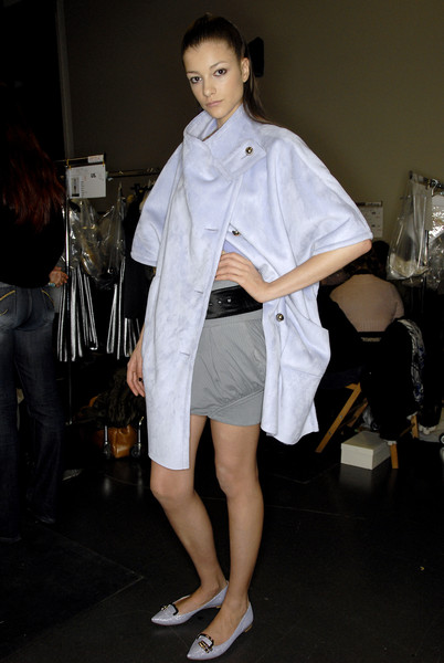 Emporio Armani at Milan Fall 2007 (Backstage)