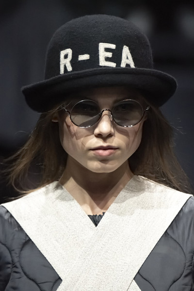 Emporio Armani at Milan Fall 2020 (Details) [eyewear,hat,sunglasses,fashion,glasses,cool,beauty,fedora,fashion accessory,headgear,sunglasses,socialite,glasses,capital asset pricing model,eyewear,hat,emporio armani,beauty,fedora,milan fashion week,sunglasses,glasses,fedora,socialite,capital asset pricing model]