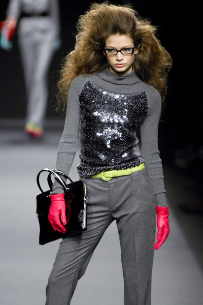 Enrico Coveri at Milan Fall 2008