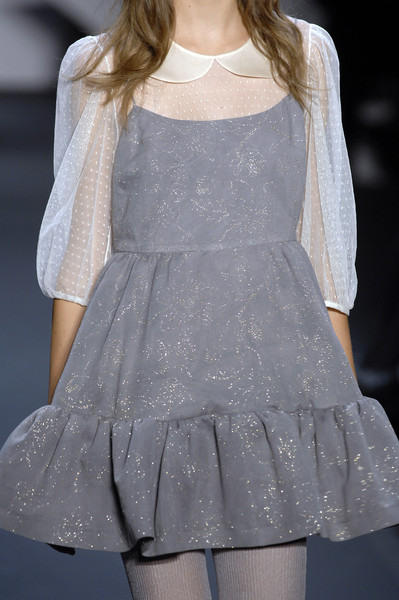 Erin Fetherston at New York Fall 2007 (Details) [fashion,fashion model,clothing,haute couture,fashion show,dress,runway,shoulder,waist,transparent material,dress,cocktail dress,supermodel,fashion,runway,haute couture,clothing,model,new york fashion week,fashion show,runway,fashion show,model,fashion,haute couture,supermodel,cocktail dress,dress,socialite,clothing]