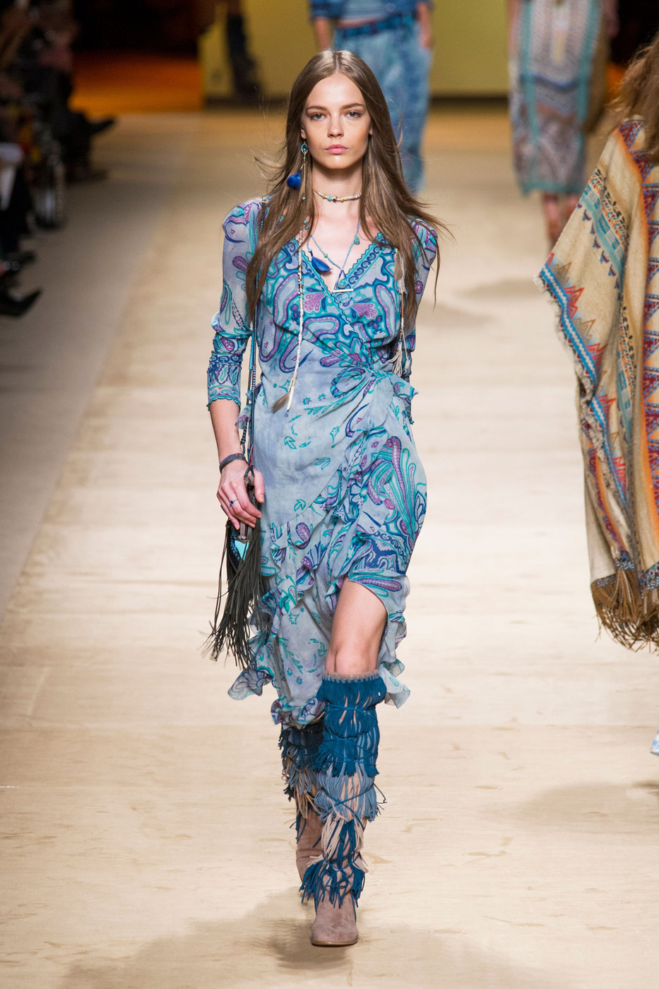 Etro: the Fashion Show S / S 2015 at The Milan Fashion Week