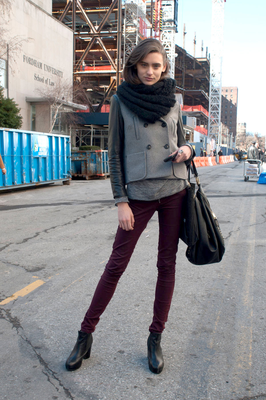 New york fashion week fall 2012 models pictures livingly Street style ny fashion week fall 2015