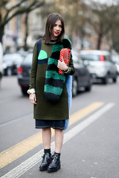 Attendees at Milan Fall 2014