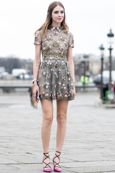 Girly Girl Best Street Style At Paris Fashion Week Fall 2015 Livingly