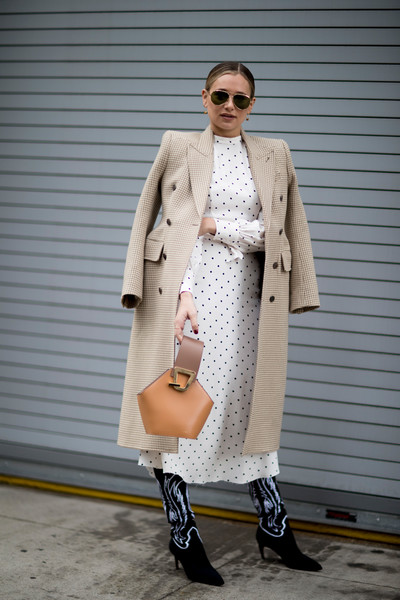 Pretty in Polka-Dots and Classic Camel