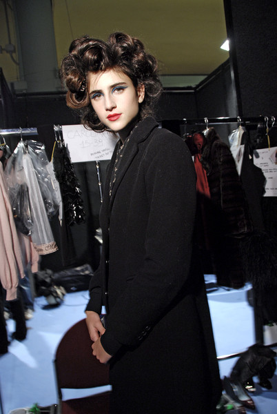 Frankie Morello at Milan Fall 2008 (Backstage)