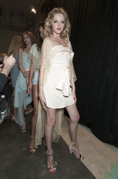 Frankie Morello at Milan Spring 2011 (Backstage)