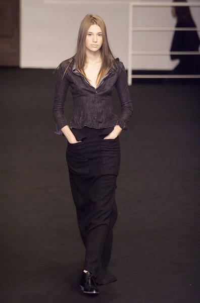 GFF Gianfranco Ferré at Milan Fall 2001