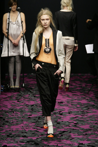 Gaspard Yurkievich at Paris Spring 2009