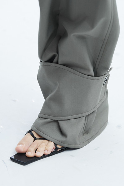Gauchere at Paris Spring 2021 (Details) [season,footwear,leg,trousers,shoe,leather,neck,personal protective equipment,jacket,leggings,jeans,shoe,heel,product design,product,spring,industrial design,model,paris fashion week,fashion show,shoe,heel,spring,summer,season,product design,product,model,industrial design,fashion show]