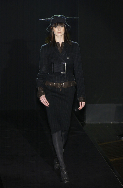 Gianfranco Ferré at Milan Fall 2003