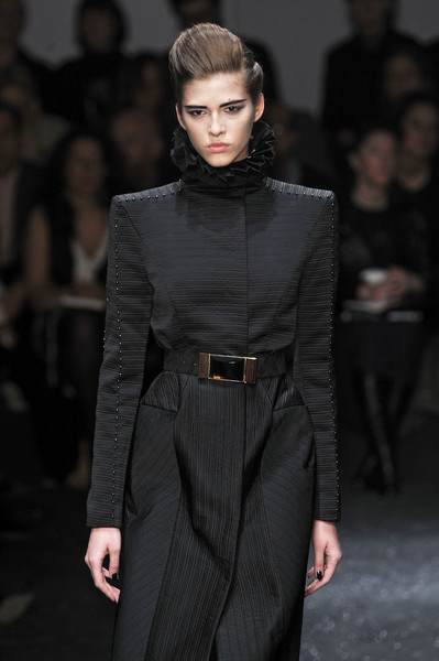Gianfranco Ferré at Milan Fall 2009