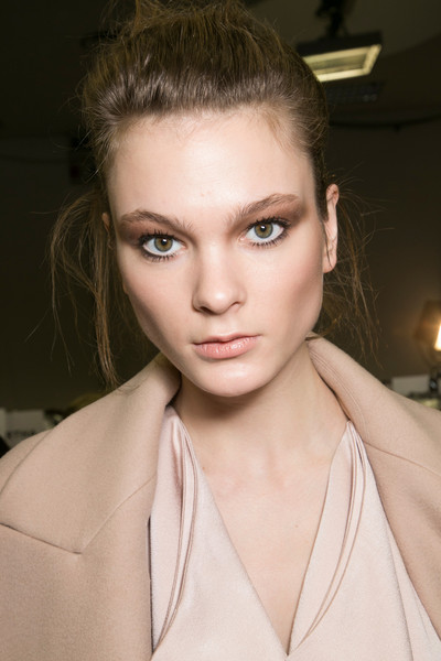 Gianfranco Ferré at Milan Fall 2013 (Backstage)