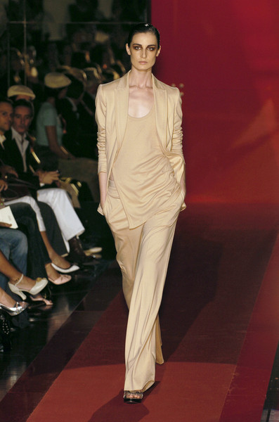Gianfranco Ferré at Milan Spring 2005