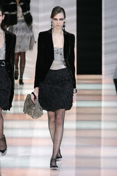 Giorgio Armani at Milan Fall 2008