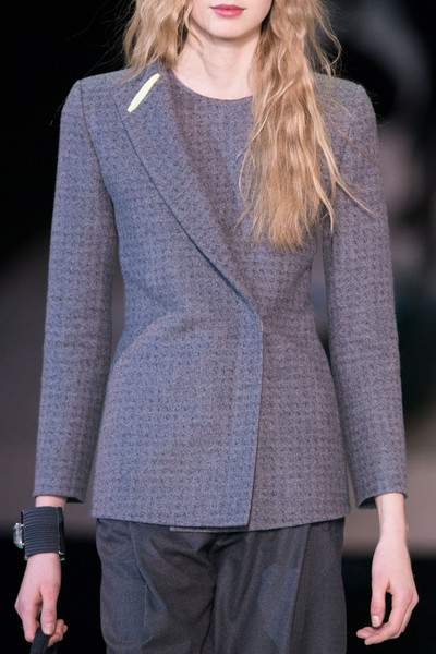 Giorgio Armani at Milan Fall 2014 (Details)