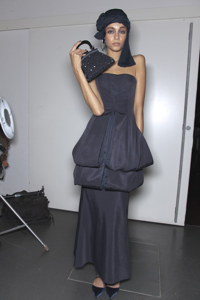 Giorgio Armani at Milan Spring 2011 (Backstage)