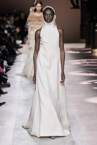Givenchy at Couture Spring 2020 [fashion model,gown,dress,clothing,fashion,wedding dress,shoulder,runway,bridal clothing,haute couture,fashion,runway,haute couture,fashion week,spring,fashion model,givenchy,couture spring 2020,fashion show,paris fashion week,paris fashion week,fashion,givenchy,haute couture,fashion week,fashion show,chanel,runway,spring]