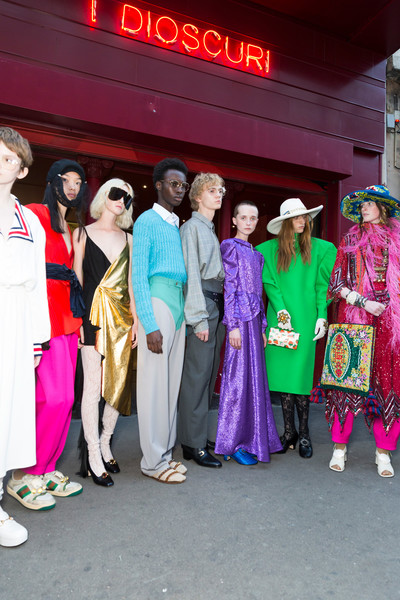 3d6ee9ad497 Gucci at Paris Fashion Week Spring 2019 - Livingly