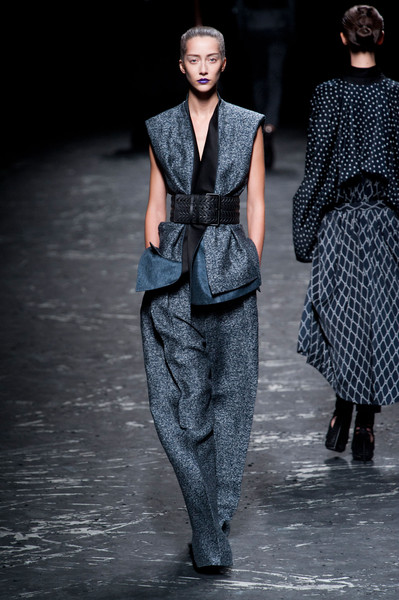 Haider Ackermann at Paris Spring 2013