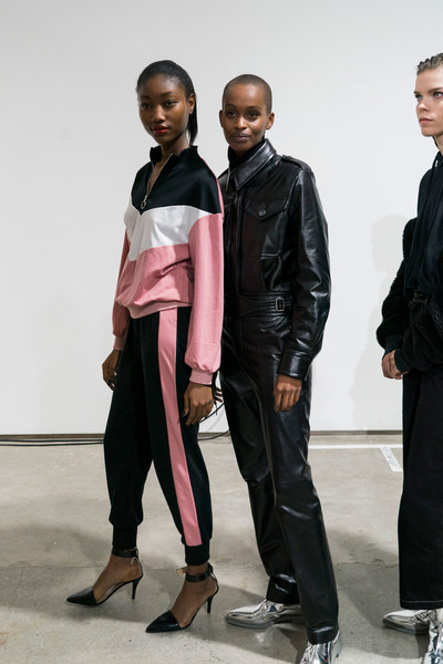 Helmut Lang Bks Bis at New York Fall 2019 (Backstage)