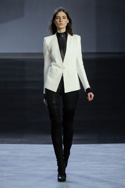 Helmut Lang at New York Fall 2012