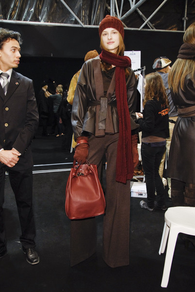 Hermès at Paris Fall 2008 (Backstage)