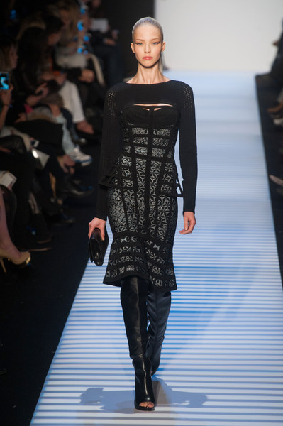 Hervé Léger by Max Azria at New York Fall 2014