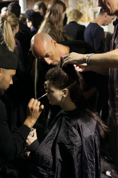 Hussein Chalayan at Paris Spring 2013 (Backstage)