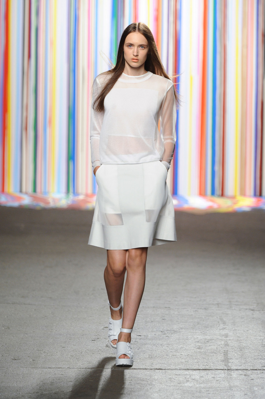 Icb At New York Fashion Week Spring 2015 Livingly