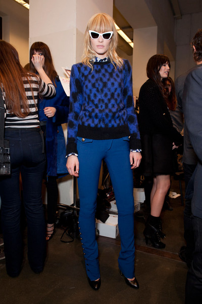Iceberg at Milan Fall 2012 (Backstage)