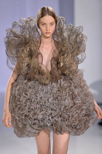 Iris Van Herpen at Couture Fall 2011
