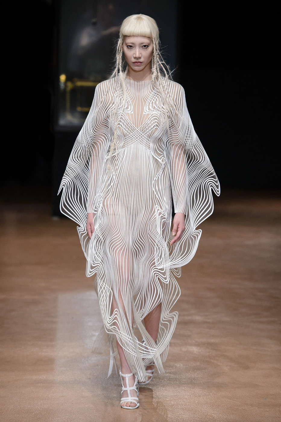 Iris van herpen at couture fall 2017 livingly for Couture 2017
