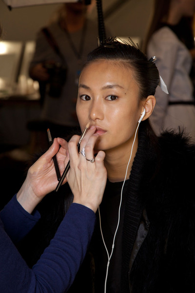 Issa at London Fall 2012 (Backstage)