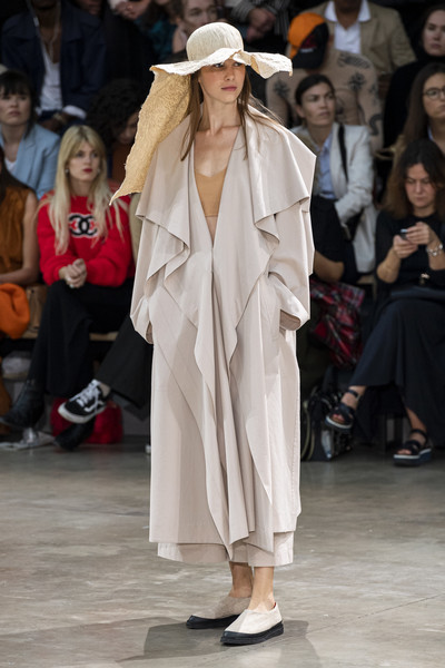 Issey Miyake at Paris Spring 2020 [fashion,runway,fashion model,clothing,fashion show,outerwear,event,human,headgear,hat,outerwear,issey miyake,fashion,fashion week,spring,fashion model,clothing,runway,paris fashion week,fashion show,issey miyake,paris fashion week,ready-to-wear,fashion show,fashion,christian dior,fashion week,spring,autumn,runway]