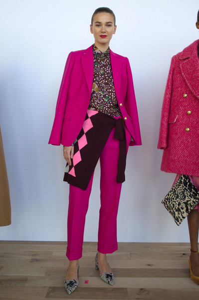 J.Crew at New York Fall 2016 [clothing,pink,fashion,magenta,outerwear,fashion show,fashion model,pantsuit,blazer,runway,outerwear,fashion,runway,clothing,fashion week,model,haute couture,new york fashion week,j. crew,fashion show,new york fashion week,runway,fashion,fashion week,model,clothing,j.crew,haute couture,skirt]
